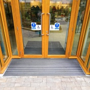 Center Parcs - aluminum entrance mats