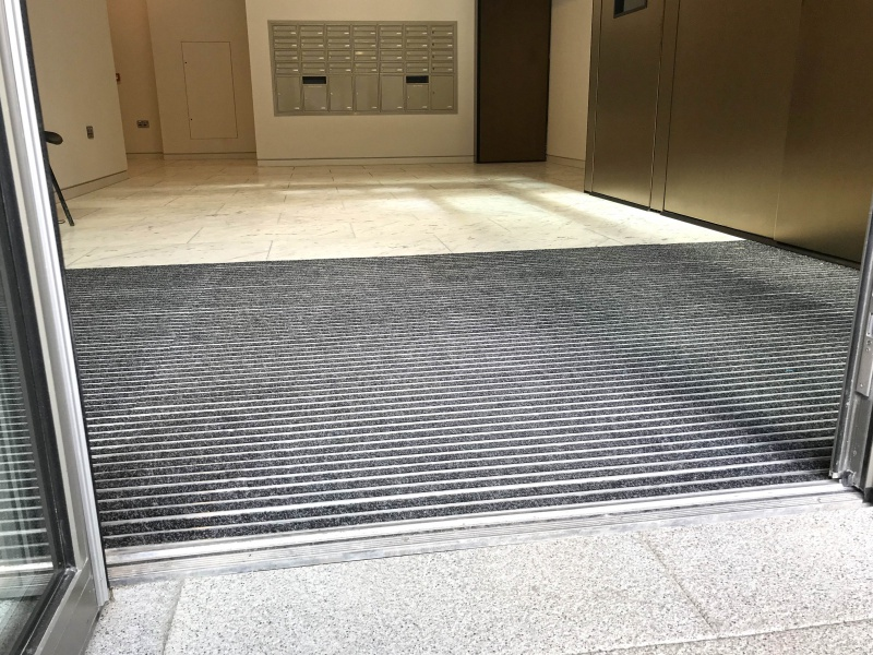 Capital Docks  - floor matting systems