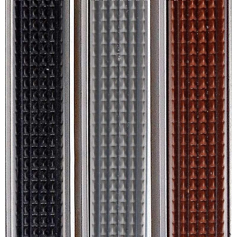 Clean Rubber 80 x 100 cm - wycieraczka aluminiowa