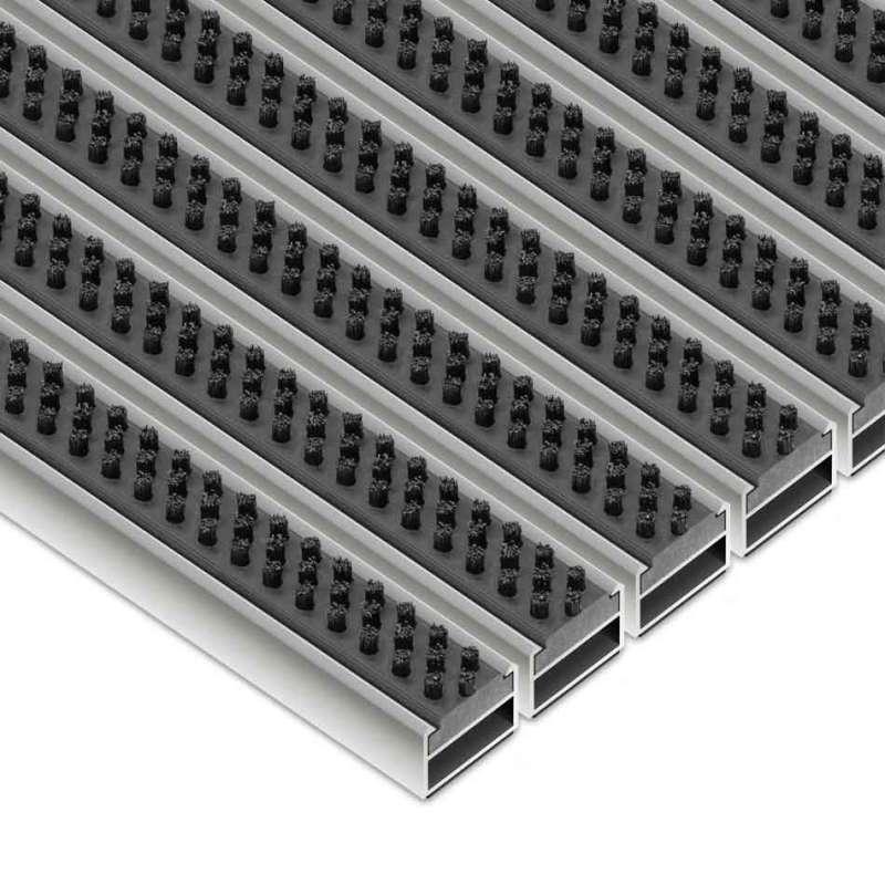 Clean Scrub 80 x 100 cm - wycieraczka aluminiowa