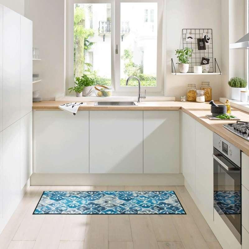 Wycieraczka do kuchni Blue 50 x 75 cm