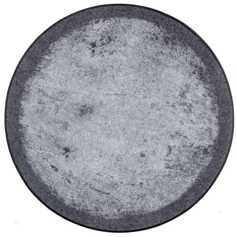 Chodnik Graphite (round) 115 x 115 cm