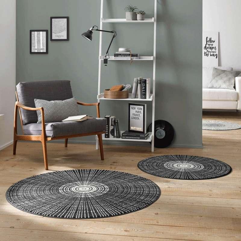 Okrągły dywanik Line