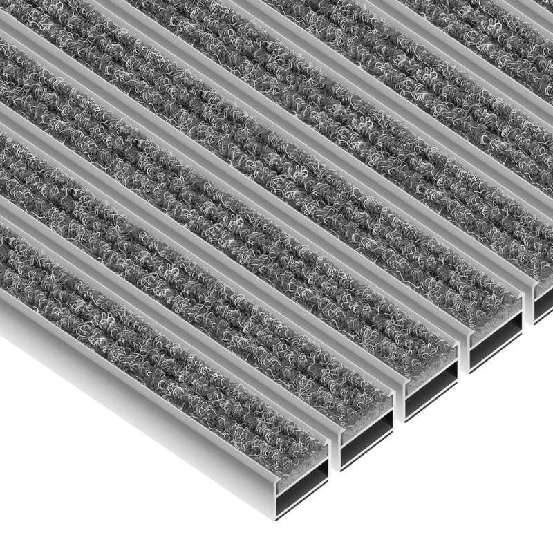 Clean Ryps 40 x 60 cm - wycieraczka aluminiowa
