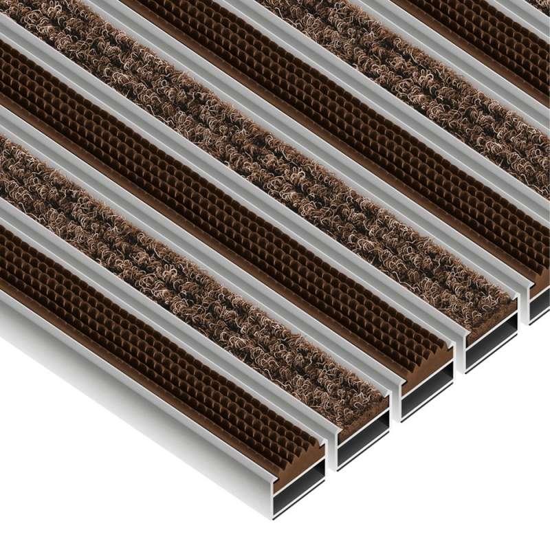 Clean Ryps - Rubber 40 x 60 cm - wycieraczka obiektowa