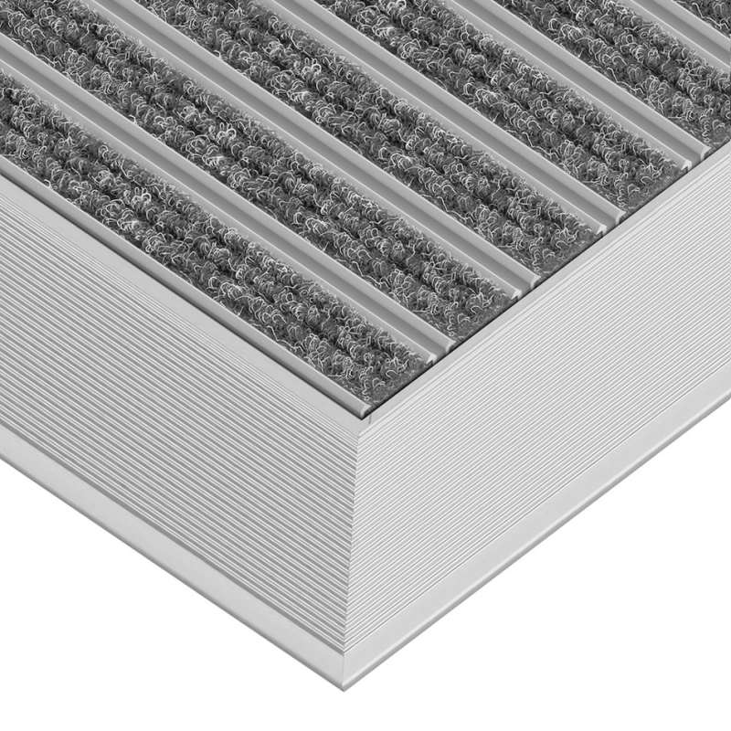 Clean Ryps 60 x 90 cm - wycieraczka aluminiowa z profilem najazdowym