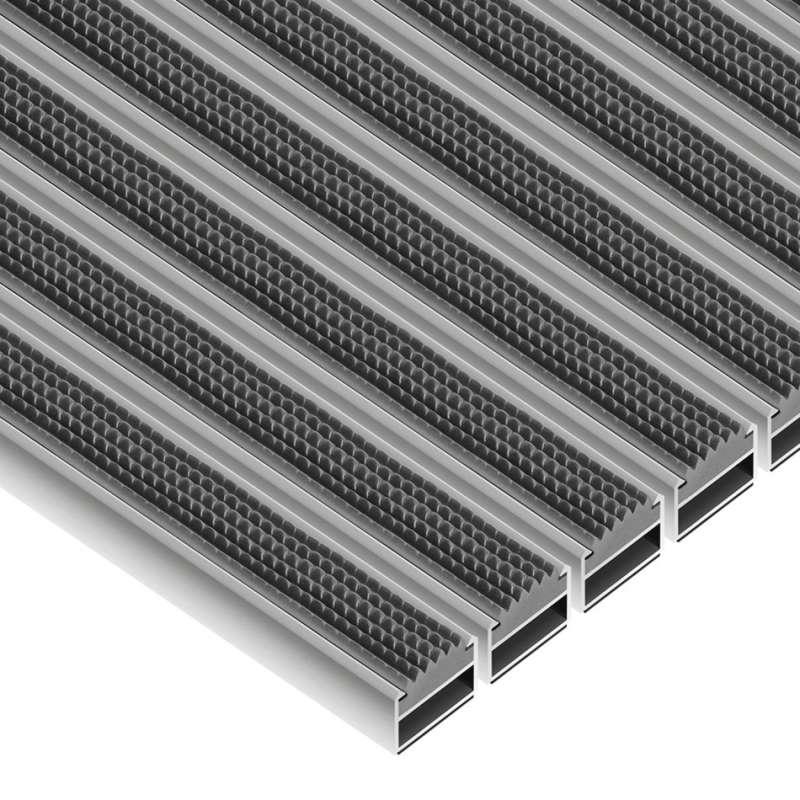 Clean Rubber 40 x 60 cm - wycieraczka aluminiowa