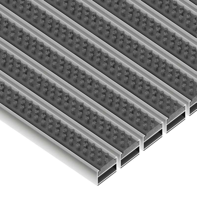 Clean Scrub 50 x 80 cm - wycieraczka aluminiowa