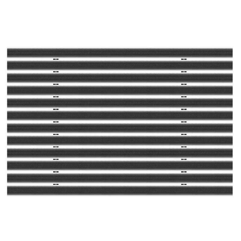 Clean Rubber 60 x 90 cm - wycieraczka aluminiowa