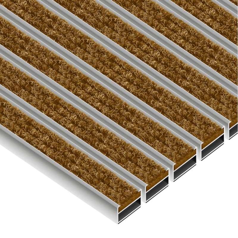 Clean Ryps 60 x 90 cm - wycieraczka aluminiowa
